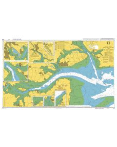 Admiralty Chart 3741: Rivers Colne and Blackwater