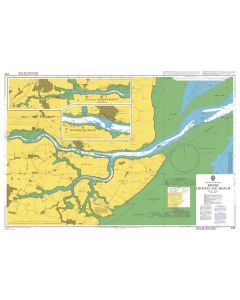 Admiralty Chart 3750: Rivers Crouch and Roach