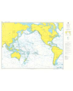 ADMIRALTY Chart 4002: A Planning Chart for the Pacific Ocean