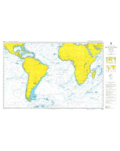 ADMIRALTY Chart 4003: A Planning Chart for the South Atlantic Ocean