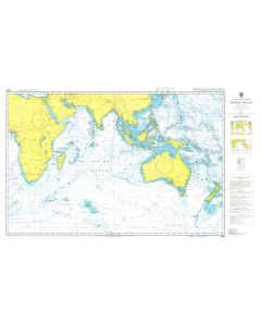 ADMIRALTY Chart 4005: A Planning Chart for the Indian Ocean
