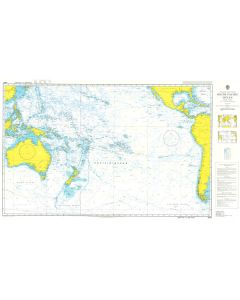 ADMIRALTY Chart 4007: A Planning Chart for the South Pacific Ocean