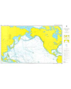 ADMIRALTY Chart 4008: A Planning Chart for the North Pacific Ocean