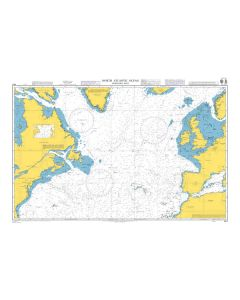 ADMIRALTY Chart 4011: North Atlantic Ocean Northern Part