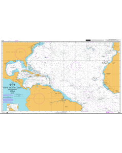 ADMIRALTY Chart 4012: North Atlantic Ocean Southern Part
