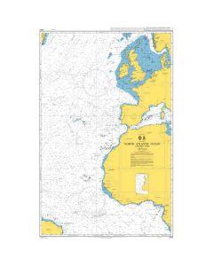 ADMIRALTY Chart 4014: North Atlantic Ocean Eastern Part