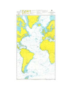 ADMIRALTY Chart 4015: A Planning Chart for the Atlantic Ocean
