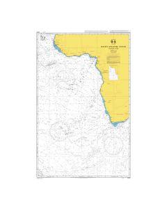 ADMIRALTY Chart 4021: South Atlantic Ocean Eastern Part