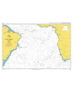 ADMIRALTY Chart 4022: South America to Africa
