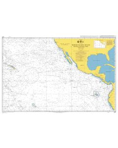 ADMIRALTY Chart 4051: North Pacific Ocean South Eastern Part