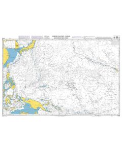 ADMIRALTY Chart 4052: North Pacific Ocean South Western Part