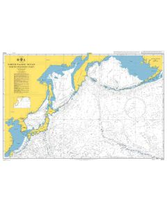ADMIRALTY Chart 4053: North Pacific Ocean North Western Part