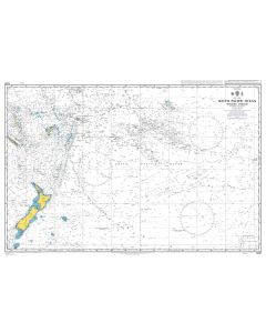 ADMIRALTY Chart 4061: South Pacific Ocean, Western Portion