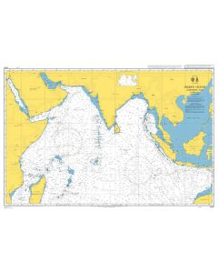 ADMIRALTY Chart 4071: Indian Ocean Northern Part