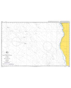 Admiralty Chart 4203: Ascension Island and Luanda to Walvis Bay