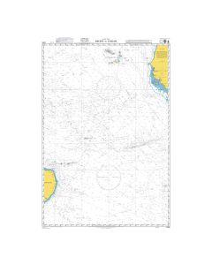 Admiralty Chart 4215: Recife to Dakar