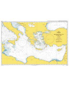 Admiralty Chart 4302: Mediterranean Sea Eastern Part