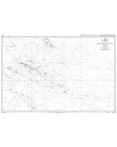 Admiralty Chart 4607: South East Polynesia