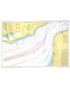 ADMIRALTY Chart 5046: English Channel - Newhaven To Calais [Instructional Chart]