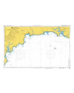 ADMIRALTY Chart 5050: Falmouth To Plymouth [Instructional Chart]