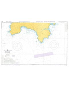 ADMIRALTY Chart 5051: Land'S End To Falmouth [Instructional Chart]
