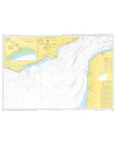ADMIRALTY Chart 5055: English Channel - Newhaven To Calais [Instructional Chart]