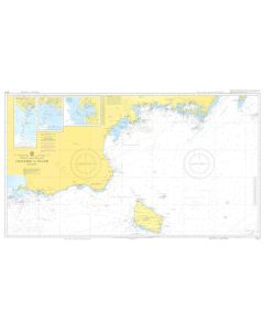 ADMIRALTY Chart 5072: Baltic Sea - Sweden - South Coast - Falsterbo To Oland [Instructional Chart]