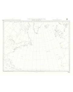 ADMIRALTY Chart 5095: North Atlantic Ocean [Gnomonic Chart]