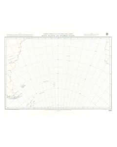 ADMIRALTY Chart 5096: South Atlantic And Southern Oceans [Gnomonic Chart]