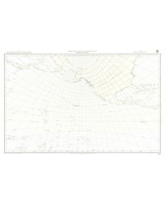 ADMIRALTY Chart 5097: North Pacific Ocean [Gnomonic Chart]