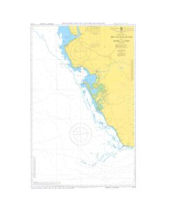 ADMIRALTY Chart 5114: Approaches To Rio Guadalquivier And Bahia De Cadiz [Instructional Chart]