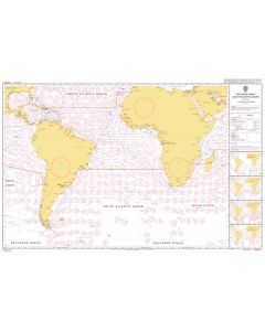 ADMIRALTY Chart 5125[03]: Routeing - South Atlantic Ocean - March