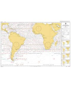 ADMIRALTY Chart 5125[05]: Routeing - South Atlantic Ocean - March