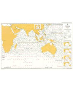 ADMIRALTY Chart 5126[02]: Routeing - Indian Ocean - February