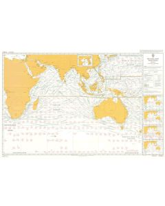 ADMIRALTY Chart 5126[03]: Routeing - Indian Ocean - March
