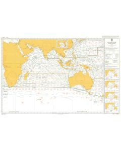 ADMIRALTY Chart 5126[05]: Routeing - Indian Ocean - May
