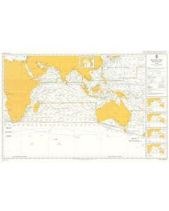 ADMIRALTY Chart 5126[06]: Routeing - Indian Ocean - June