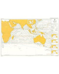 ADMIRALTY Chart 5126[07]: Routeing - Indian Ocean - July