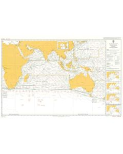 ADMIRALTY Chart 5126[08]: Routeing - Indian Ocean - August