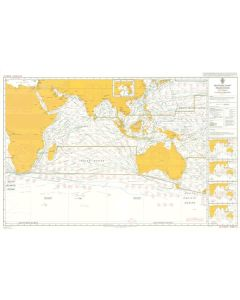 ADMIRALTY Chart 5126[10]: Routeing - Indian Ocean - October