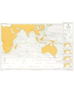ADMIRALTY Chart 5126[12]: Routeing - Indian Ocean - December