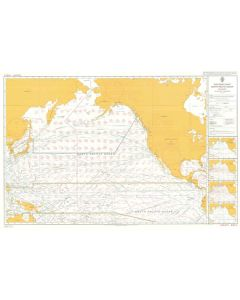 ADMIRALTY Chart 5127[01]: Routeing - North Pacific Ocean - January