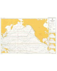 ADMIRALTY Chart 5127[02]: Routeing - North Pacific Ocean - February