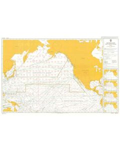 ADMIRALTY Chart 5127[04]: Routeing - North Pacific Ocean - April