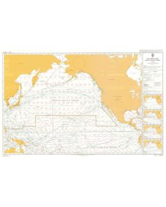 ADMIRALTY Chart 5127[06]: Routeing - North Pacific Ocean - June