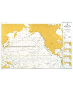 ADMIRALTY Chart 5127[11]: Routeing - North Pacific Ocean - November