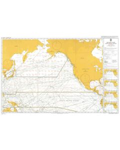ADMIRALTY Chart 5127[12]: Routeing - North Pacific Ocean - December