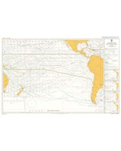 ADMIRALTY Chart 5128[01]: Routeing - South Pacific Ocean - January