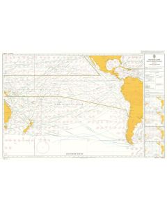 ADMIRALTY Chart 5128[03]: Routeing - South Pacific Ocean - March