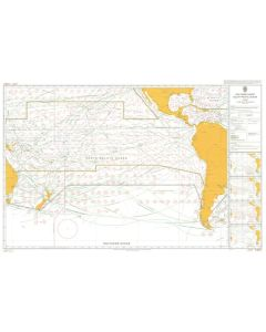 ADMIRALTY Chart 5128[06]: Routeing - South Pacific Ocean - June